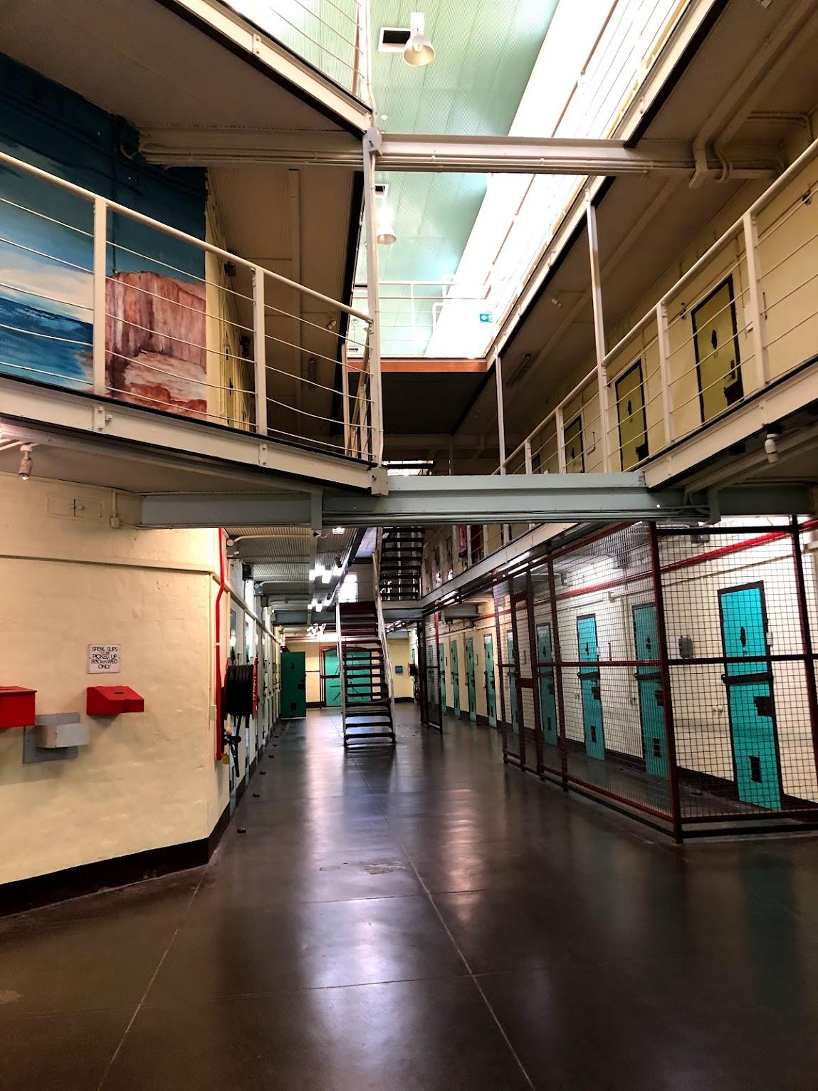 フリーマントル刑務所館内