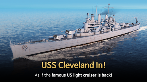 Code Triche Warship Fleet Command : WW2 Naval War Game mod apk screenshots 2