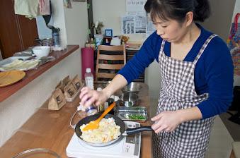 黒千石レシピ:黒千石入りチャーハン・作り方