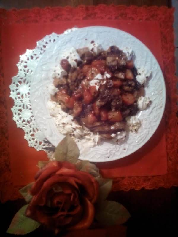 Funnel Of Love Cakes And Hot Sweet Strawberries Recipe