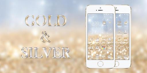 黃金和銀主題-CM桌面(獵豹桌面)
