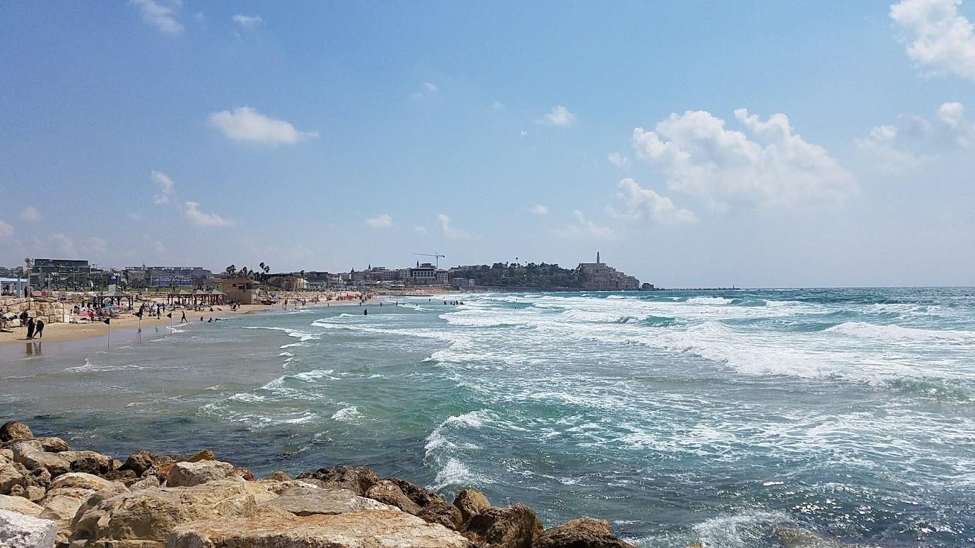 Looking south to Jaffa in Tel Aviv