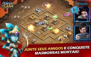 Screenshot of Castle Clash: A Era das Lendas