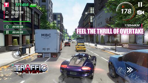 Traffic Fever-jeu de course fond d'écran 2