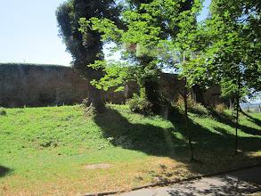 Photo: Pozostałości murów obronnych