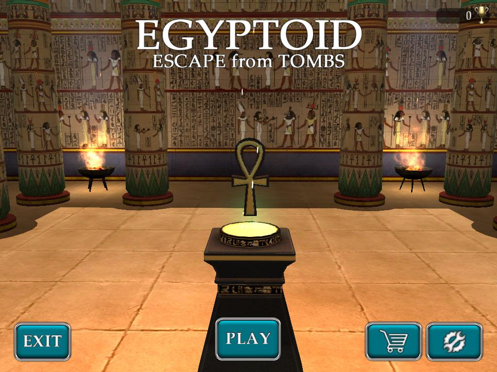 Egyptoid - Escape from Tombs- screenshot