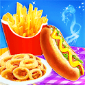 Fast Food Stand - Fried Food Cooking Game icon