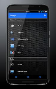 CM12 Theme Blue Hydra v1.0.0 build 17