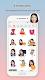 screenshot of MomentCam Cartoons & Stickers
