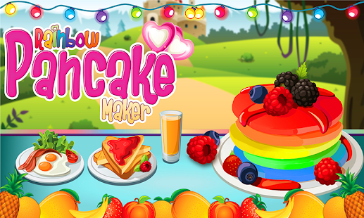 Game DIY Rainbow Pancake Maker APK for Windows Phone