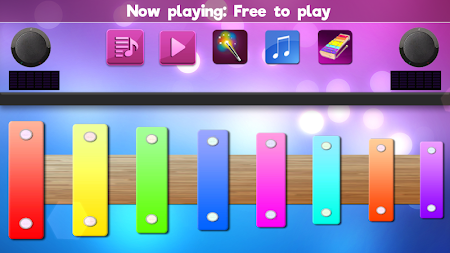 Colorful Instrument Simulator –Piano, Drum, Guitar APK screenshot thumbnail 4
