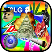 MLG Photo Editor: Meme Sticker