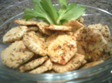 Dilly Oyster Cracker Snacks Recipe