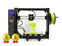 LulzBot TAZ Workhorse with 2 Year Extended Warranty