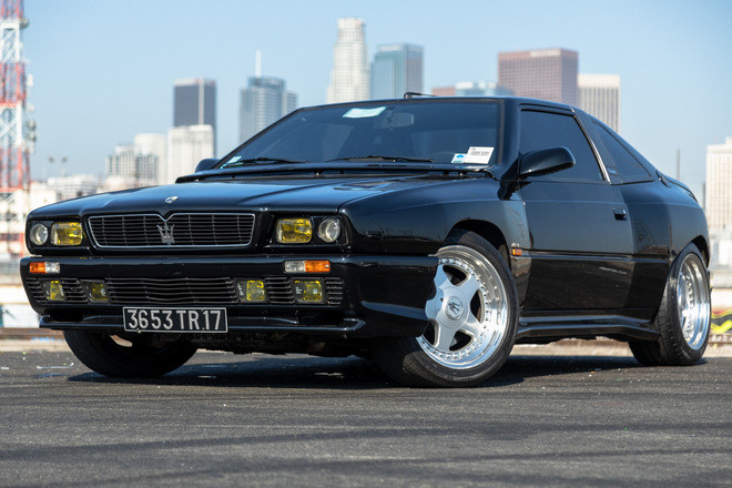 Outrageous, Extremely Rare '90s Maserati: 1 of 2 in US Hire CA 90013