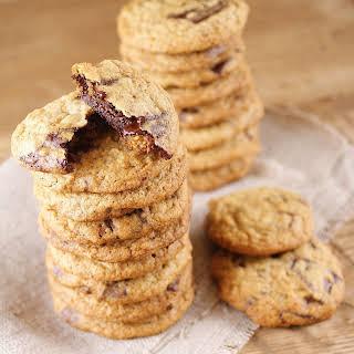 Light & Skinny Chocolate Chip Cookies.