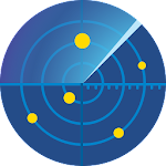 GPS fix : GPS Test, Compass App & Satellites Radar Icon