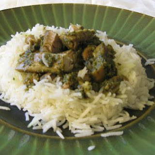Aarti's Green Minty Curry Chicken