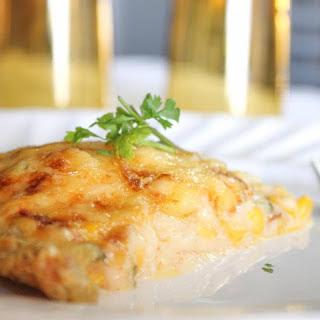 Breakfast Potato Quiche with Tender Corn