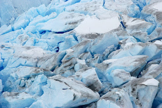 Photo: Blue ice field