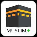 Muslim+ Prayer Times, Quran, Qibla, Dua, Tasbih icon