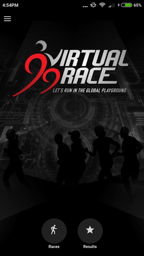 99 Virtual Race- screenshot