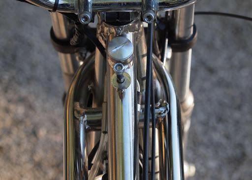 Cadre en acier au Chrome Molybdène de la Rickmann Métisse