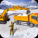 Grand Snow Excavator Machine Simulator 19 icon