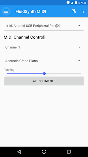 FluidSynth MIDI Synthesizer - náhled