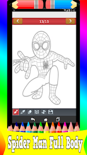Learn How to Draw:spider Man Easy Step - náhled