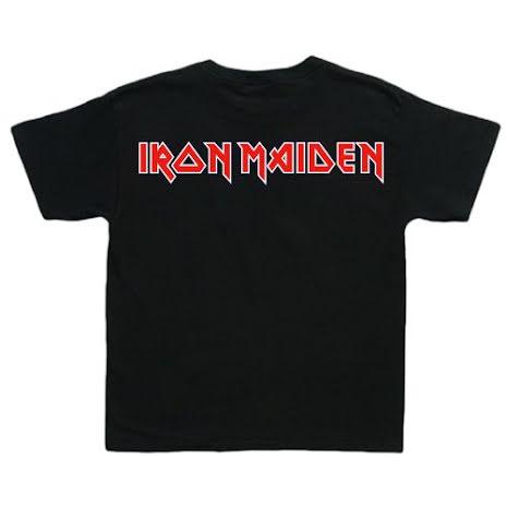 Barn T-Shirt - Iron Maiden - Logo