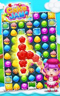 Cake jam: match 3 puzzle - náhled