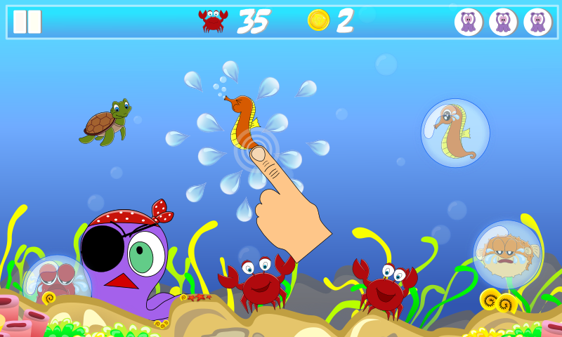 Tap the Bubbles for Babies- screenshot