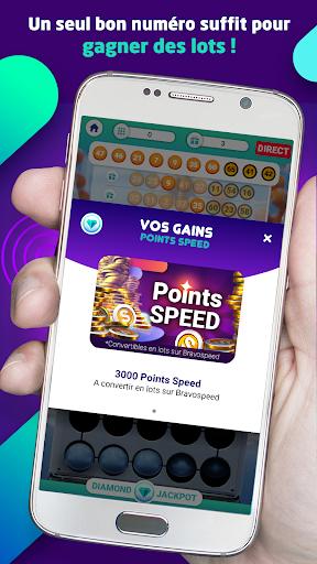 Télécharger Gratuit Bravospeed : loterie gratuite à 5M€ APK MOD (Astuce) screenshots 5