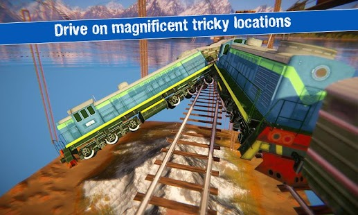 Impossible Train Driving Simulator - náhled