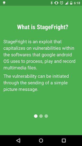 Stagefright Protection
