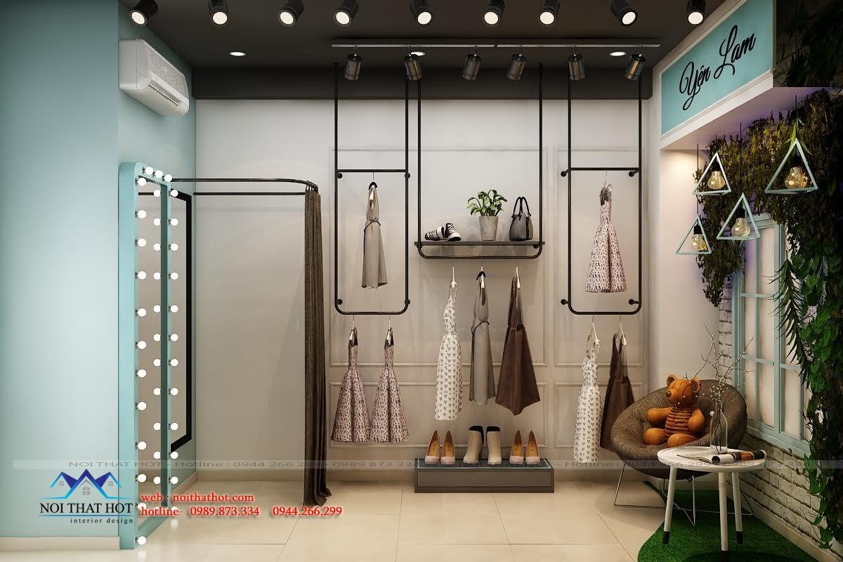 thiết kế shop thời trang bán hàng online