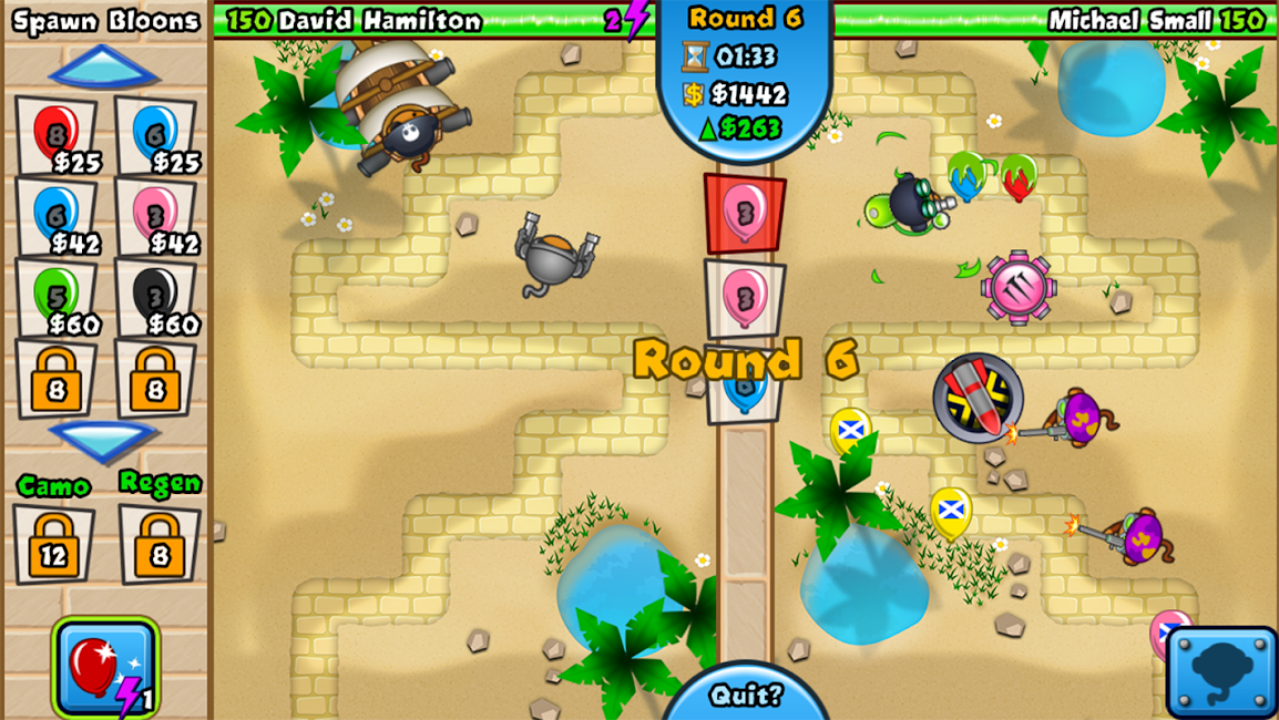 #10. Bloons TD Battles (Android)