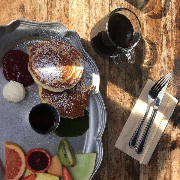 gluten free pancakes from cafe 21