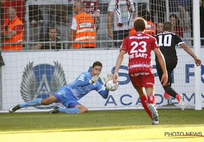 """Premier penalty arrêté pour Louis Bostyn: """"Je devais oublier mon erreur"""""""