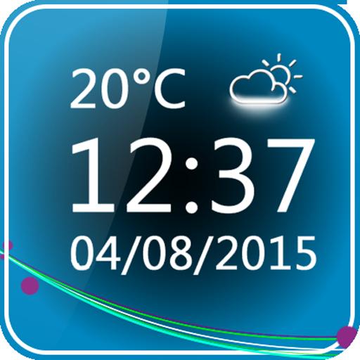 Minimal Clock Widget - Apps on Google Play