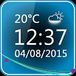 Minimal Clock Widget 3.4