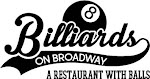 Logo for Billiards on Broadway