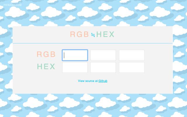 RGB HEX Converter
