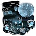 Ocean Moon Night Launcher Theme icon
