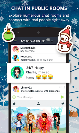 Galaxy - Chat & Meet People  screenshots 1