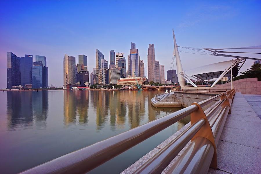 Financial City by Sim Kim Seong - City,  Street & Park  Skylines