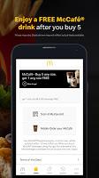 screenshot of McDonald's