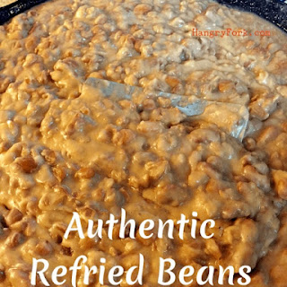 How to Make Authentic Refried Beans.