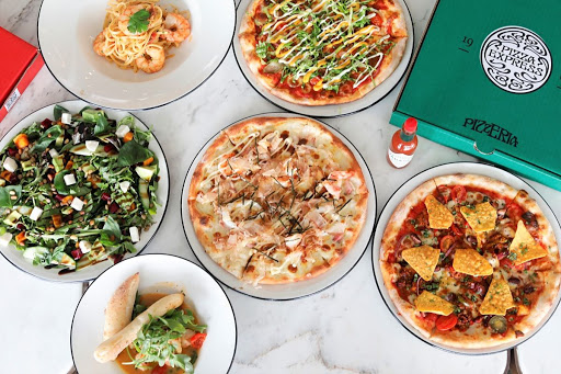 """PizzaExpress – Go """"Around The World"""" With NEW Hamburger Pizza, Okonomiyaki Pizza. FREE Pizza With $60 Spent On Delivery"""